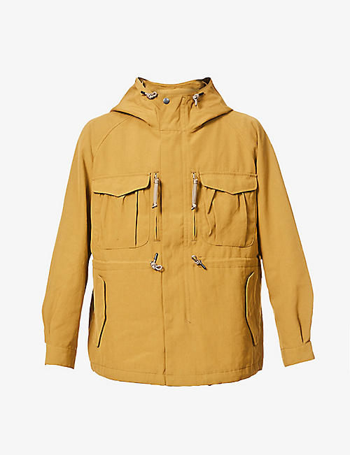 SNOW PEAK: Takibi hooded woven jacket