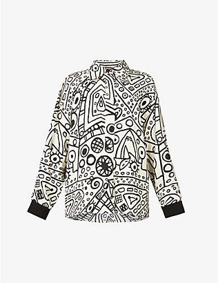 COLVILLE: City printed woven shirt