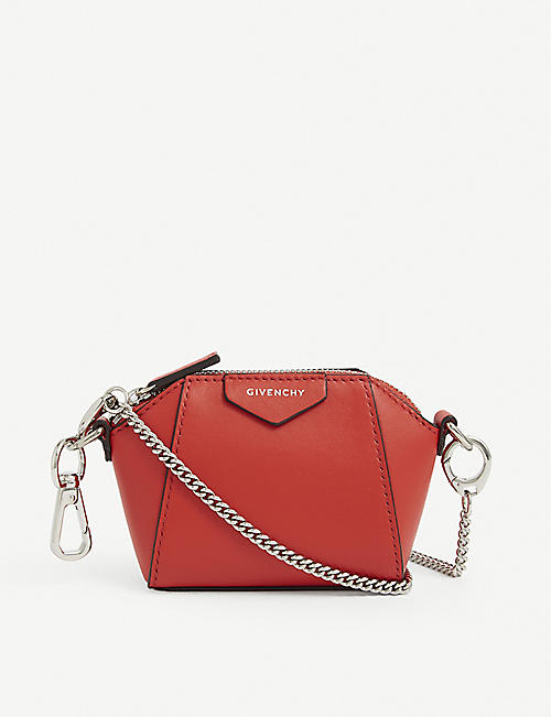 GIVENCHY: Antigona Baby leather purse