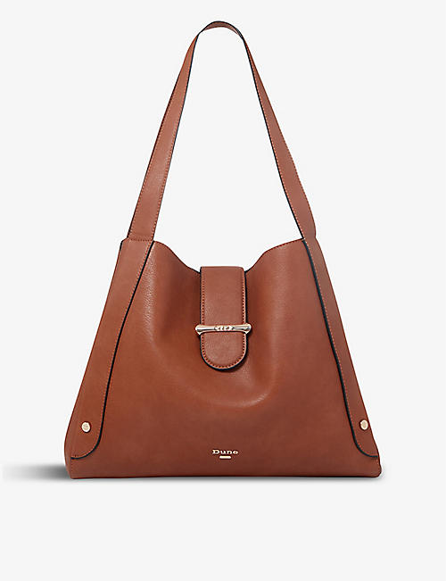 DUNE: Dixen leather shoulder bag