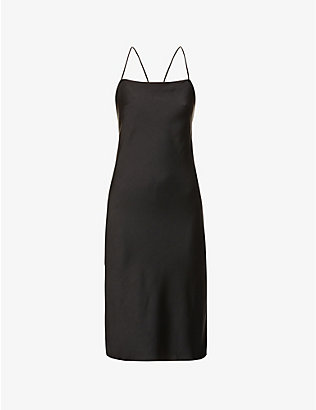 BA&SH: Loulou sleeveless crepe midi dress