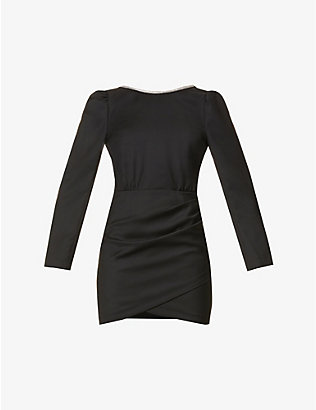 BA&SH: Miroir wool mini dress
