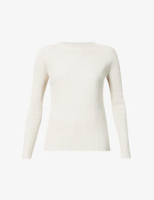S MAX MARA: Freddy ribbed wool-blend jumper