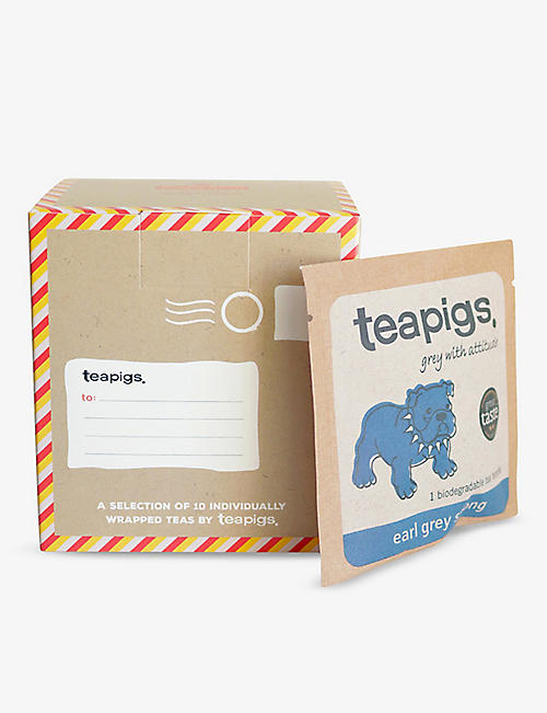 TEAPIGS: Selfridges x Royal Mail tea box 25.3g