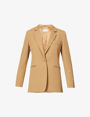 MAX MARA: Accorta single-breasted wool jacket
