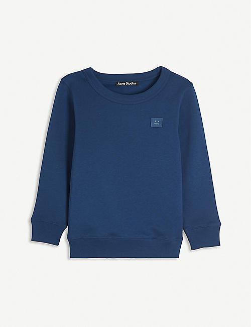 ACNE STUDIOS: Fairview cotton sweatshirt 3-10 years