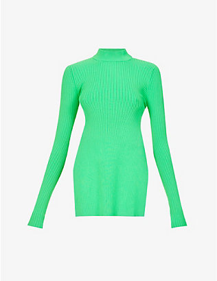 SPORTMAX: Lisetta high-neck knitted top