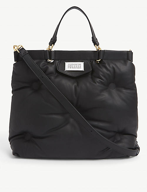 MAISON MARGIELA: Glam Slam quilted leather tote bag