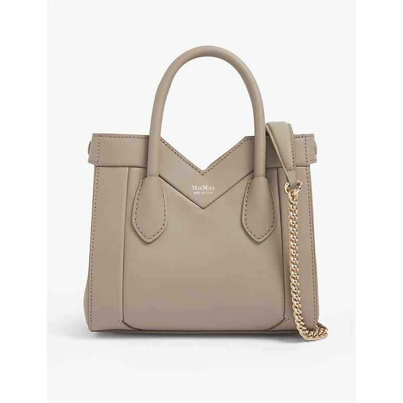 Madame mini leather tote bag