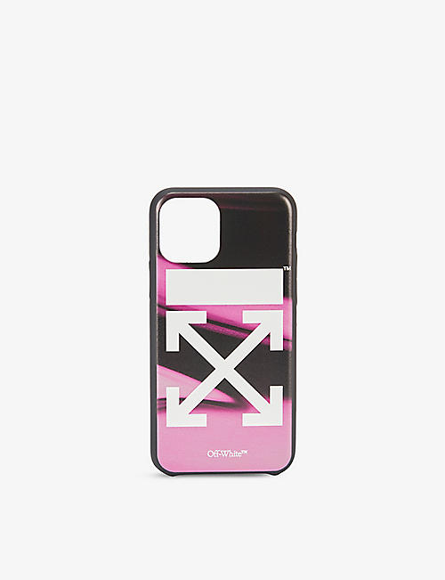 OFF-WHITE C/O VIRGIL ABLOH: Liquid Melt iPhone 11 Pro phone case