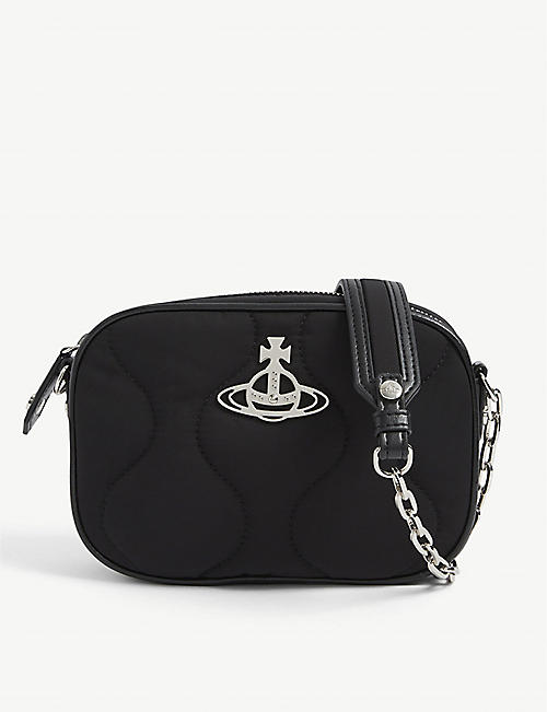 VIVIENNE WESTWOOD: Camper recycled-nylon camera bag