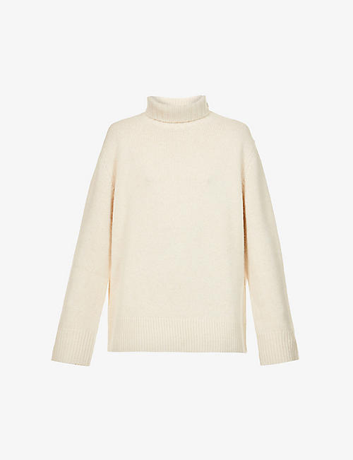 JOSEPH: Oversized turtleneck cashmere jumper