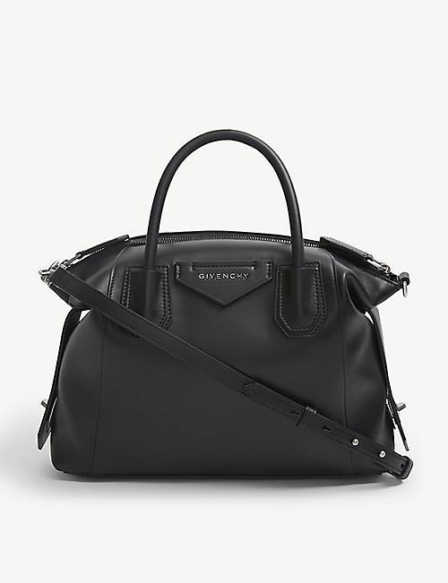 GIVENCHY:Antigona Soft 小号皮革托特包