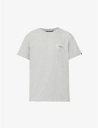 BOY LONDON: Haze logo-print cotton-blend T-shirt