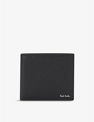 PAUL SMITH ACCESSORIES: Logo-embossed leather bi-fold wallet