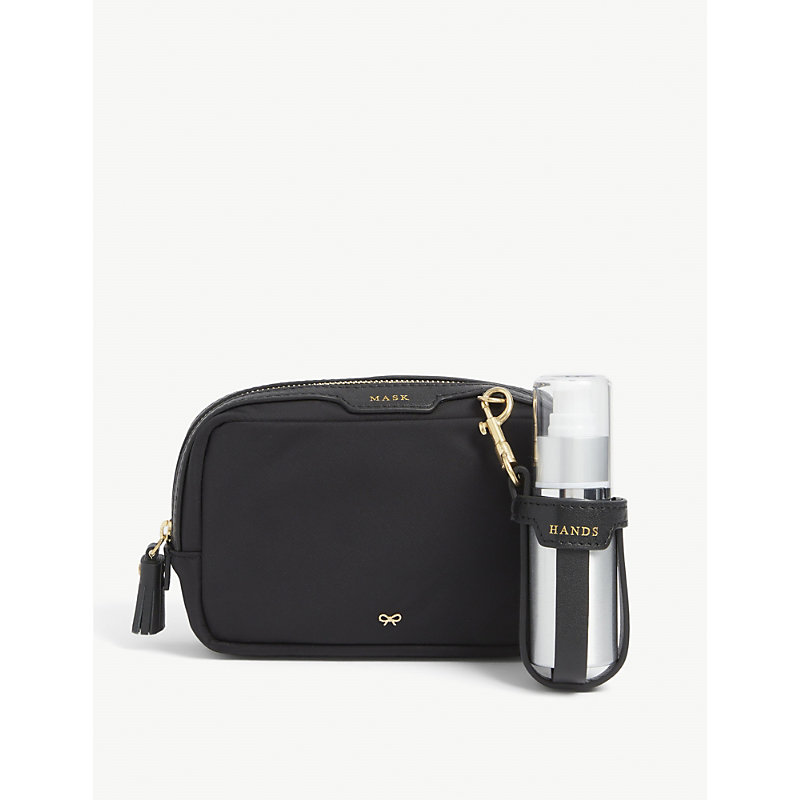 Anya Hindmarch PPE RECYCLED-NYLON HYGIENE KIT
