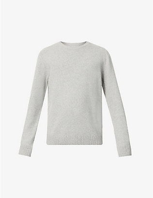 COLORFUL STANDARD: Crewneck relaxed-fit wool jumper