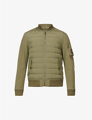 BELSTAFF: Mantle padded shell-down jacket