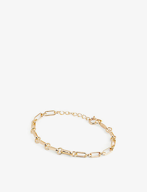 EDGE OF EMBER: Everyday Chain sterling silver bracelet