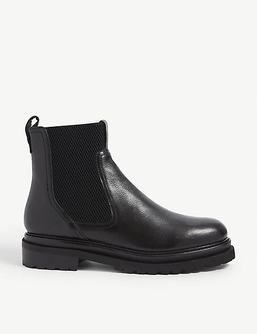 WHISTLES: Elson leather Chelsea boots