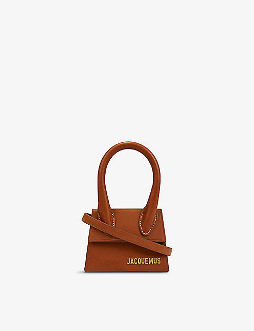JACQUEMUS: Le Chiquito leather top-handle bag