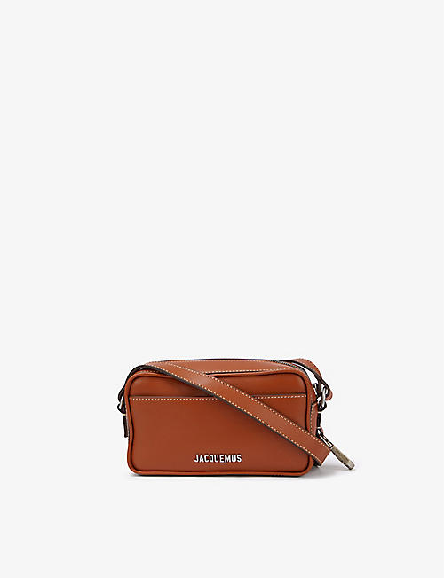 JACQUEMUS: Le Baneto leather camera cross-body bag