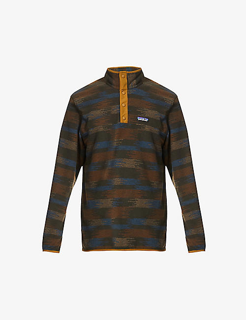 PATAGONIA: Micro D Snap-T recycled-polyester jumper
