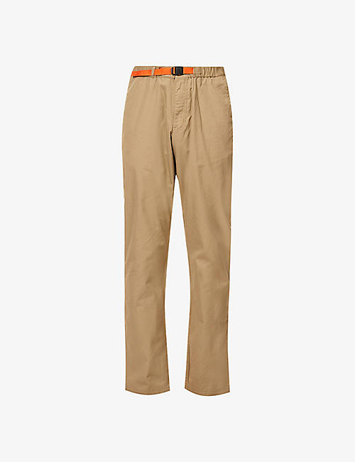 PATAGONIA: Gi brand-patch straight organic-cotton trousers