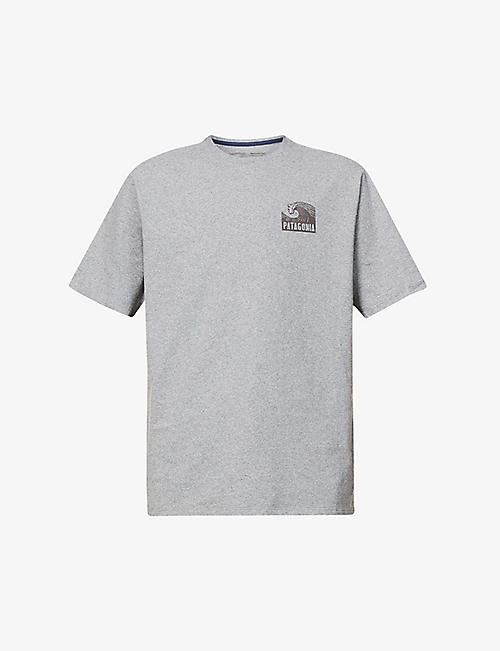 PATAGONIA: Ditch The Drill Responsibili-Tee recycled-cotton- and recycled-polyester-blend T-shirt