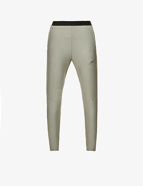 PREVU: Gym Tech relaxed-fit stretch-jersey jogging bottoms
