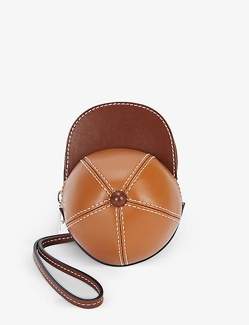JW ANDERSON: Nano Cap leather shoulder bag