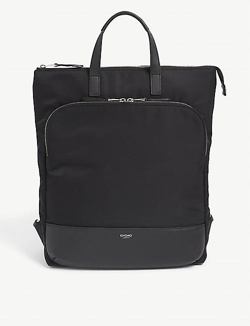 KNOMO: Harewood nylon backpack