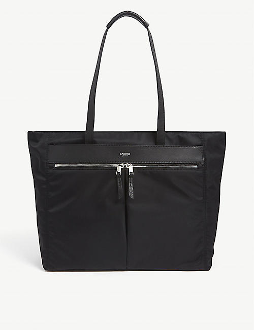 KNOMO: Grosvenor Place nylon tote bag