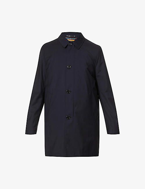PAUL SMITH: Detachable-gilet collared wool jacket
