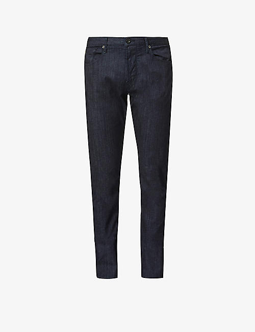 EMPORIO ARMANI: J06 clean-wash slim-fit stretch-denim jeans