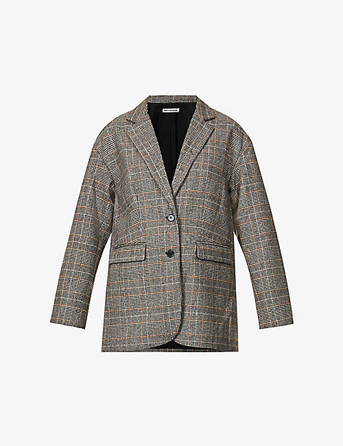 REFORMATION: Broadfield checked blazer