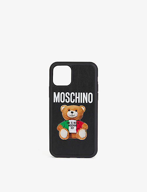 MOSCHINO: Teddy iPhone 11 Pro shell and silicone case