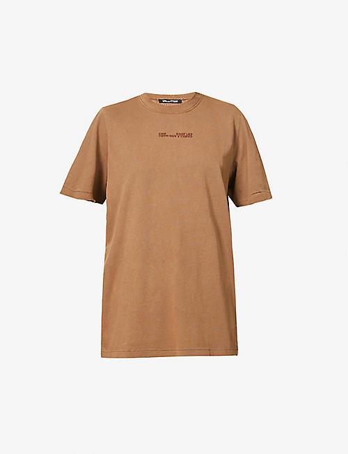 CAMILLA AND MARC: Turner branded cotton-jersey T-shirt