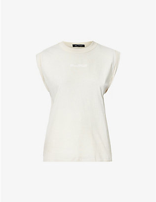 CAMILLA AND MARC: Cadiz branded cotton-jersey T-shirt