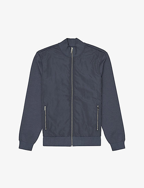 REISS: Steven regular-fit woven jacket