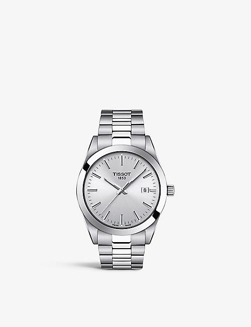TISSOT: T127.410.11.031.00 Gentleman stainless steel quartz watch