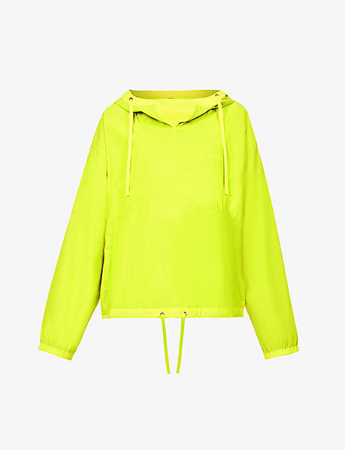 ACNE STUDIOS: Opellu high-neck shell hooded jacket