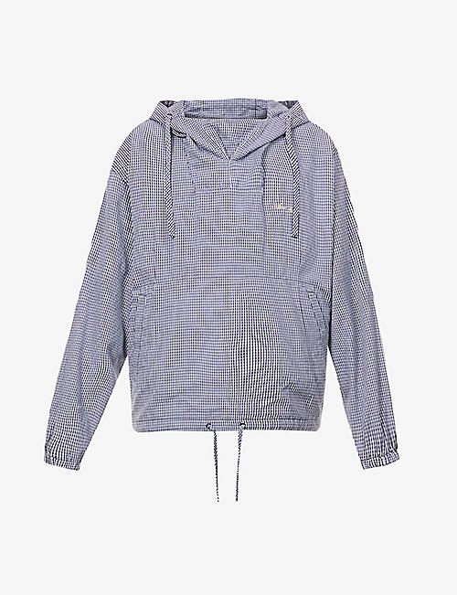 ACNE STUDIOS: Opello logo-embroidered woven hoody
