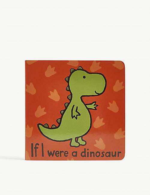 JELLYCAT: If I Were a Dinosaur paper book 15cm x 15cm
