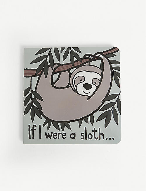 JELLYCAT: If I Were A Sloth hard-back book