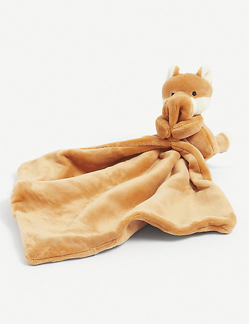 JELLYCAT: My Friend Fox soother blanket 28cm x 28cm