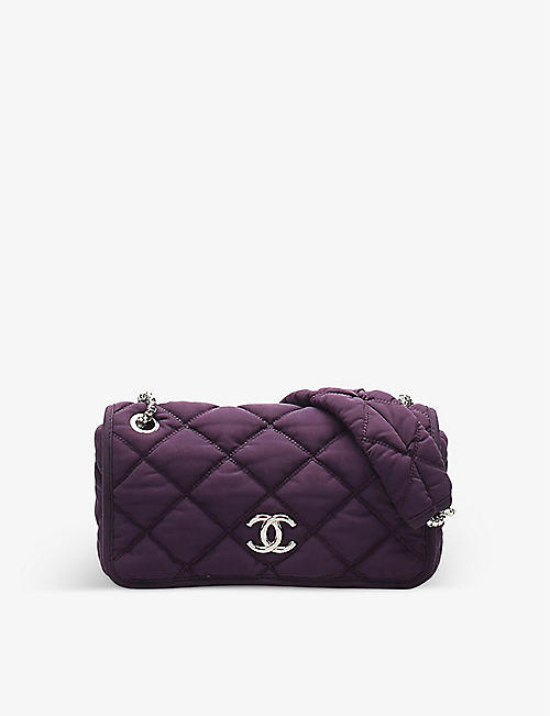 RESELLFRIDGES: Pre-loved Chanel Bubble quilted nylon shoulder bag