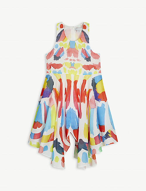 STELLA MCCARTNEY: paint print cotton dress 4-14 years