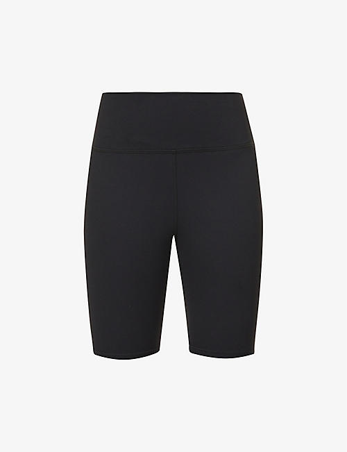 JOAH BROWN: The Biker high-rise stretch-woven cycling shorts