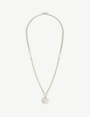 SINUM: 2020 - The Lotus silver necklace